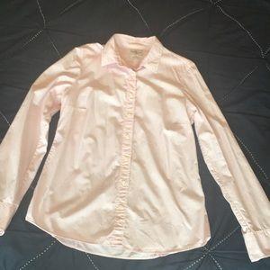 J. Crew Haberdashery Pink Shirt